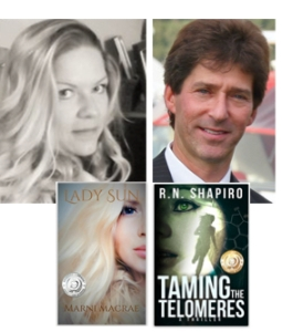 Author Marni MacRae interviews R.N. Shapiro about Taming the Telomeres