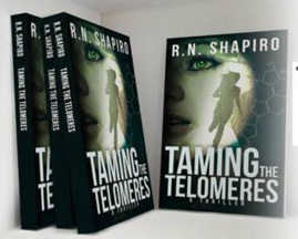Taming the Telomeres wins Gold Award for top thriller