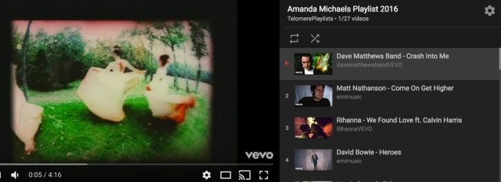 Amanda playlist