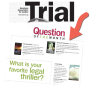 When they asked the nation's trial lawyers: 'What's your favorite legal thriller?' there was asurprise.