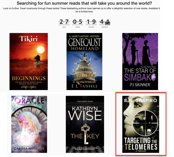 Discover Female Lead Mysteries and Thriller Giveaways For Advance